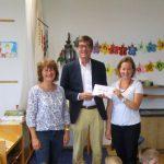PGR-Spende an den Kindergarten Schwabering