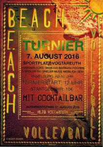 Beachvolleyball-Turnier Vogtareuth 2016