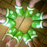 Gipfel, Glück & Gottvertrauen: In DAV-Pantoffeln