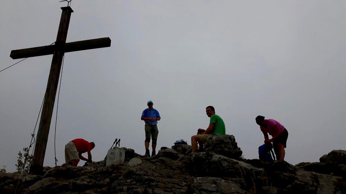 Gipfel, Glück & Gottvertrauen: Spitzsteingipfel