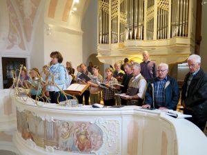 Kirchenchor-Ausflug 2016: Gotteslob in Rebdorf
