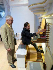 Kirchenchor-Ausflug 2016: Dr. Karlheinz Dietl und Elisabeth Asböck