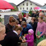 Erntedank St. Emmeram, Vogtareuth 2016: Minibrote von der Landjugend