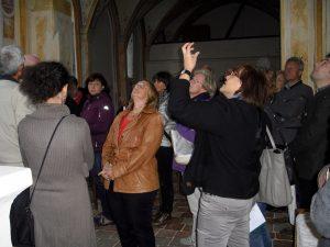 Pfarrverbandsausflug 2016: Kirchenführung durch Dr. Monika Loy
