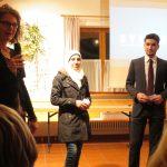 Sonja Brindl; Waheda und Mohammed Khawatme