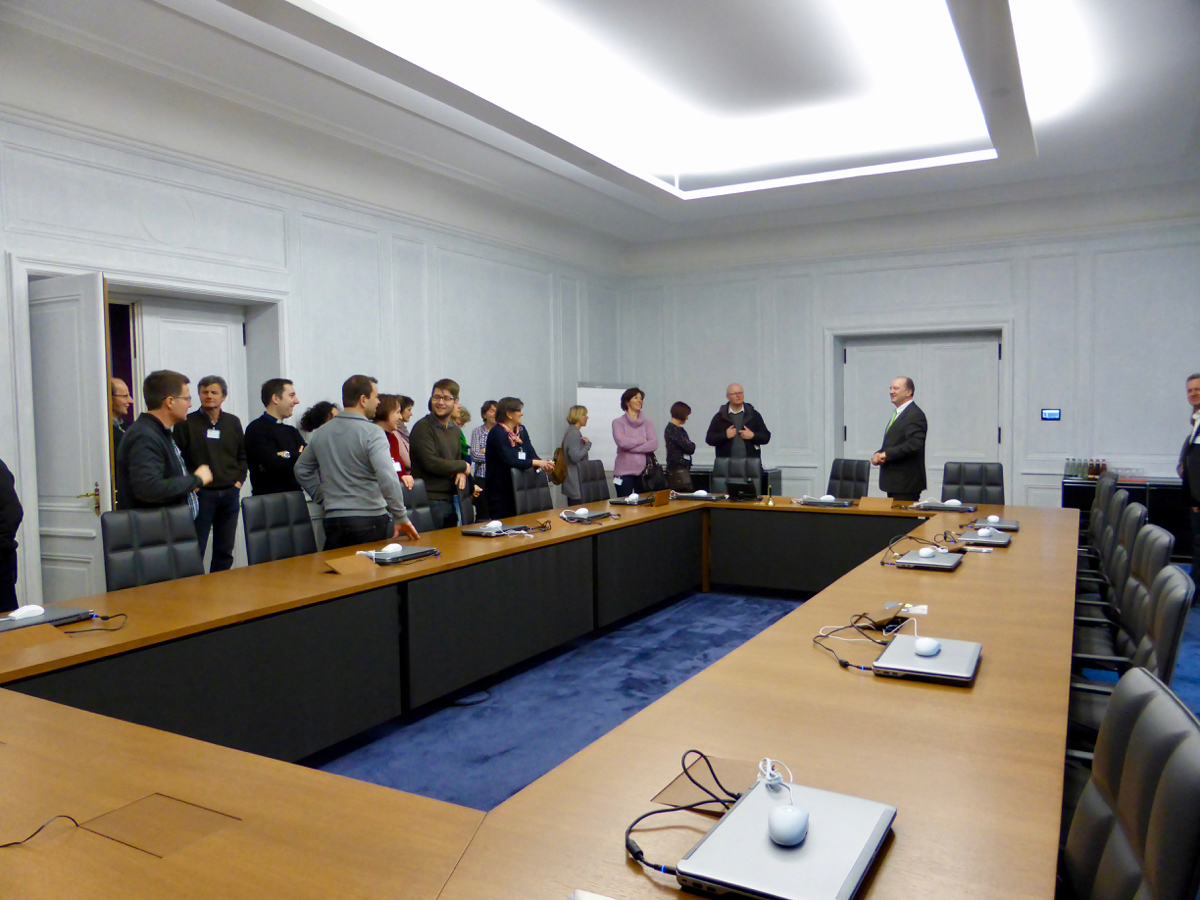 Führung durch das Ordinariatsgebäude in München
