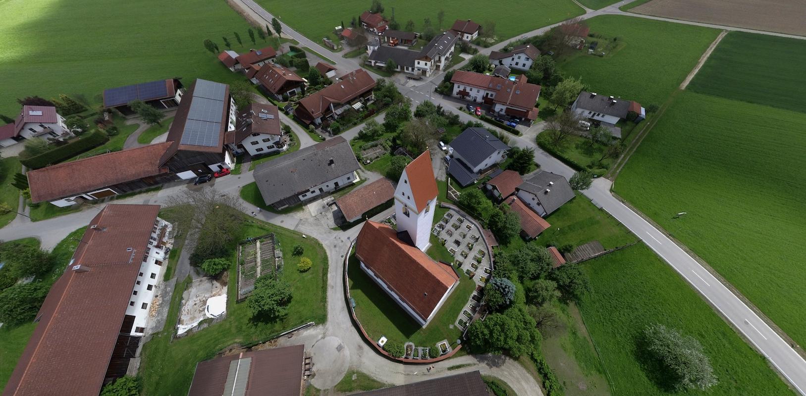 Interaktive Luftaufnahme von Straßkirchen am 20. Mai 2017