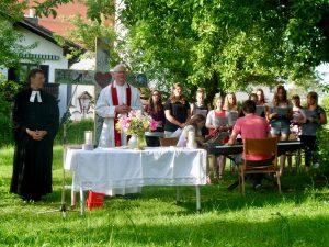 Jugendchor zur Eröffnung
