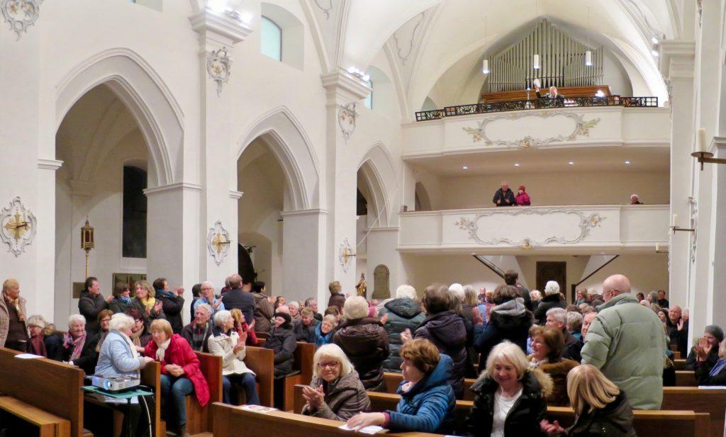 Applaus für den Orgelfelix