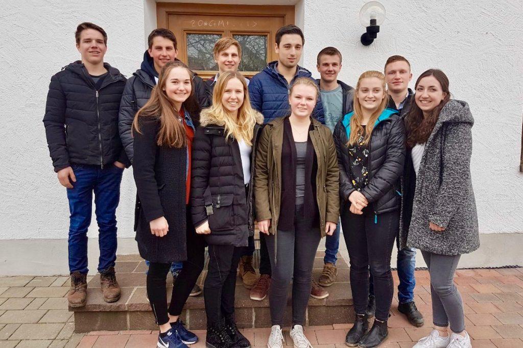 Der neue Vogtareuther KLJB-Vorstand 2018
