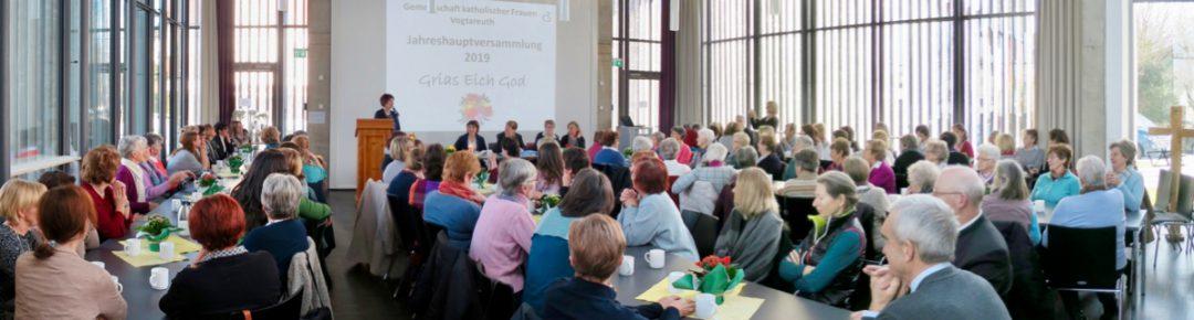 Jahreshauptversammlung der Gemeinschaft katholischer Frauen Vogtareuth, 27.01.2019