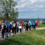 Fußwallfahrt 2019: Altötting in Sichtweite