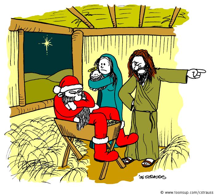 Santa vs. Josef