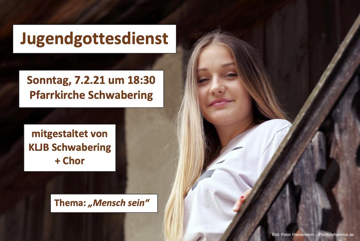 Jugendgottesdienst am 7.2.2021 in Schwabering