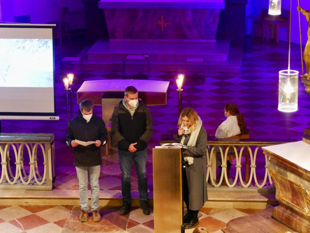 Jugendgottesdienst am 7. März in Vogtareuth (Bild: Hubert Sewald sen.)