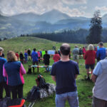 Bergmesse des Pfarrverbands Prutting-Vogtareuth auf dem Heuberg 2021
