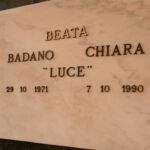 Grabstätte von Chiara Badano